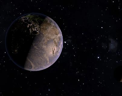 Солнечная система (3D)