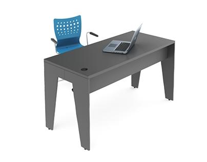 Mesa para escritório Dual