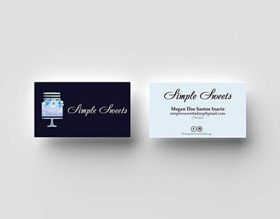Simple Sweets Business Cards & Branding