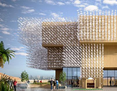 Polish pavilion at EXPO 2020, UAE [FULL CGI]