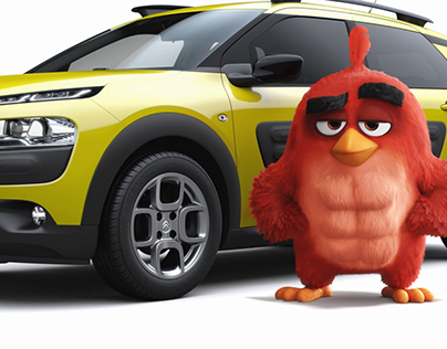 Citroën and The Angry Birds