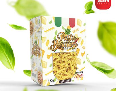 """Basillosa"" Pasta Packaging Design"