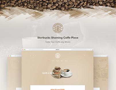 Starbucks - Coffeeshop Template