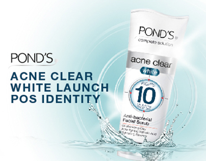 Ponds Acne Clear White Launch – POS Identity