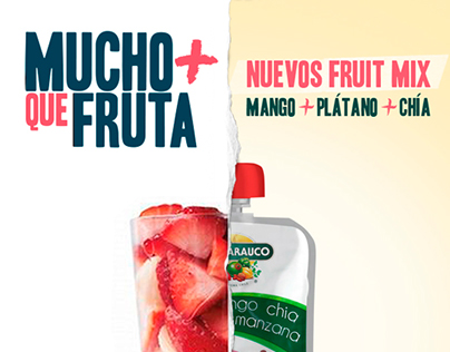 Guallarauco campaign :: New smoothie flavours