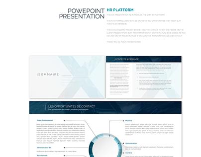 HR platform Powerpoint Presentation
