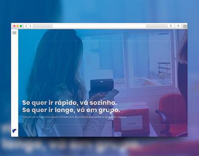 Site Institucional - Grupo Solidez
