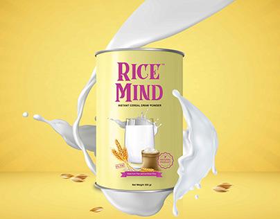 Rebranding Design Packaging of Rice Mind