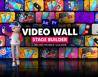 Video Wall Stage Builder
