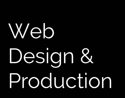 Web Design and Production