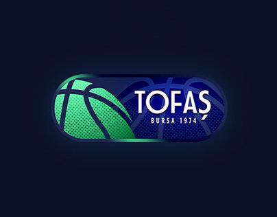 Tofas Bursa Basketball Club Art Direction