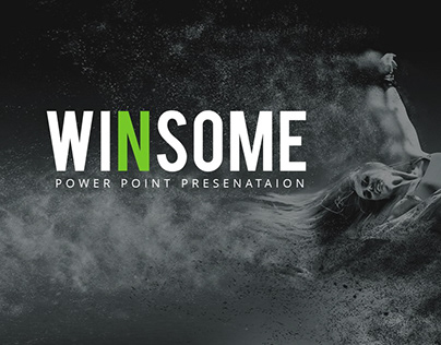 Winsome Power Point Presentation Template