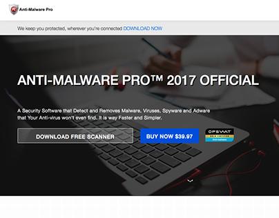 Anti Malware Pro - Website