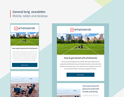 what3words newsletter