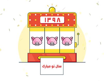 Iranian Norouz Slot Machine