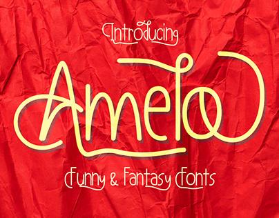 Amelo Funny & Fantasy Fonts
