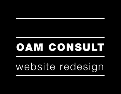 OAM Consult Website Design