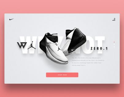 Nike Online Sneaker Store Concept