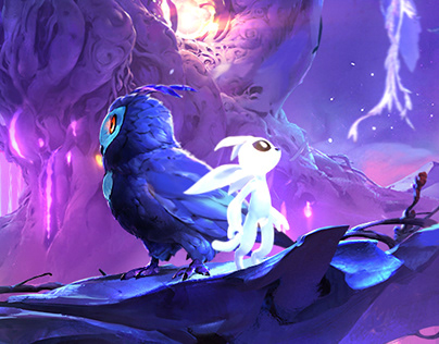 Ori and the will of the Wisps - Animated Splash Art