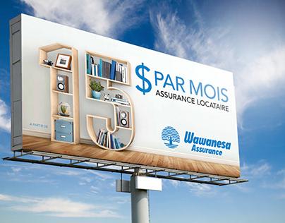 Wawanesa Campagne panneaux