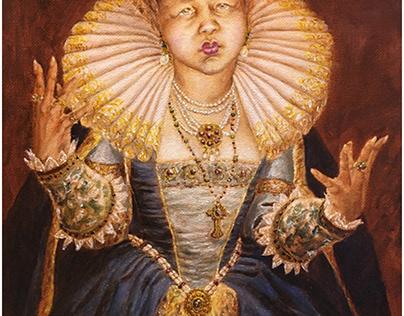 Tyra's oil paintings