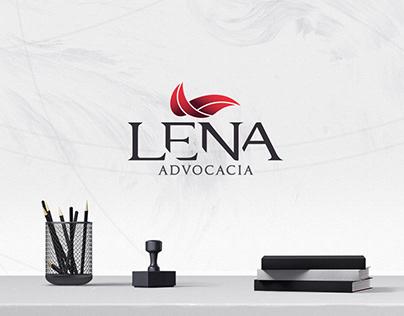 Lena Advocacia - Rebranding e Website