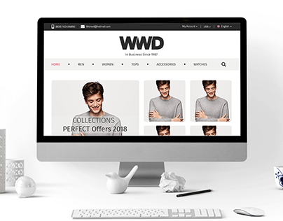 Clothes - Ecommerce website