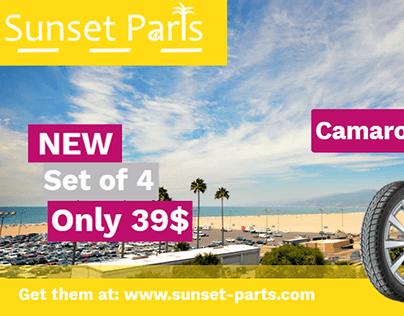 Sunset-Parts Banner