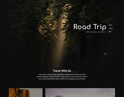 Road Trip Landing Page