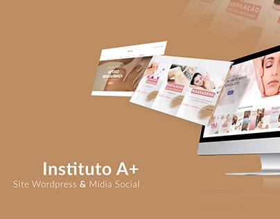 Mídia Social - Instituto de Beleza A+