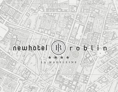 """Visual Identity for the hotel """"Roblin La Madeleine"""""""