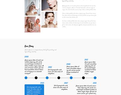 Womenica - Fashion Landing Page PSD Template