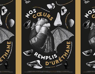 Nos coeurs remplis d'uréthane - Théâtre du Double signe