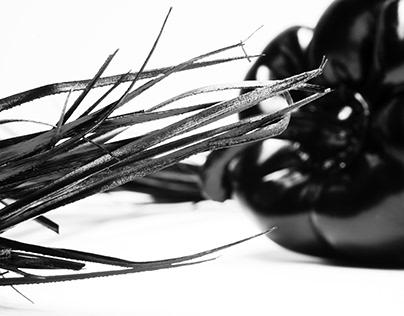 Black still life
