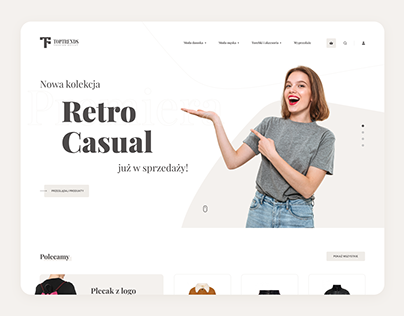 Toptrends - E-commerce Shop UI/UX