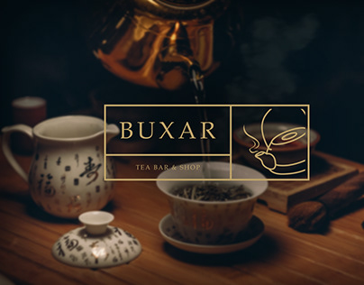 corporate identity for BUXAR TEA BAR & SHOP