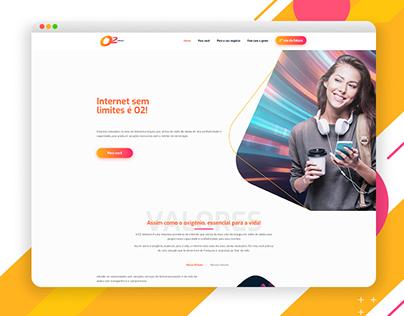 Website - O2 telecom