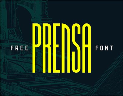 Prensa Free Font