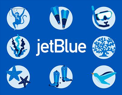 jetBlue Icons