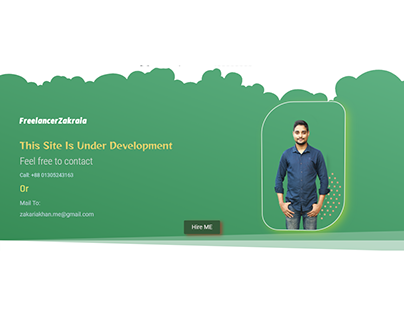 Under Development Page By Elementor Pro