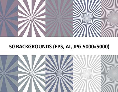 50 Burst Backgrounds