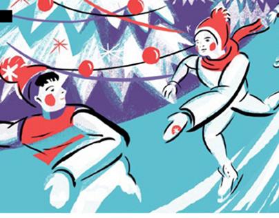 Park Magazine Winter Illustrations