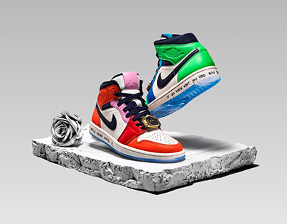 Website Concept Air Jordan 1