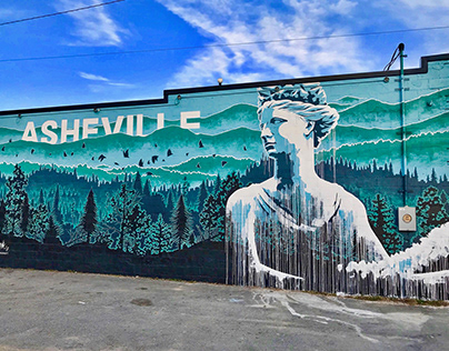 West Asheville Mural