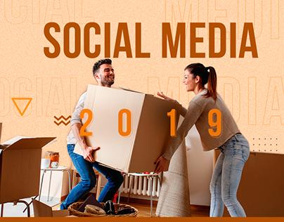Social Media 2019 - Clientes diversos.