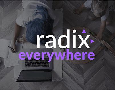 Vídeo Radix Everywhere