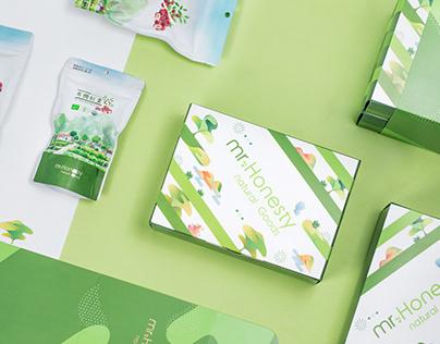誠實先生|禮盒包裝設計Paackage Design