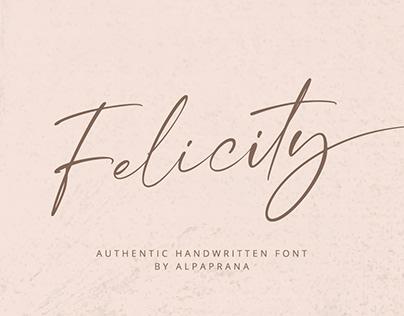 Felicity - Handwritten Font