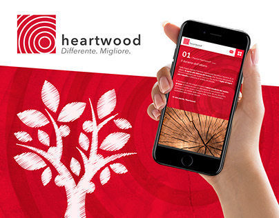 Brand identity, Web Design, UI/UX, Develop - Heartwood