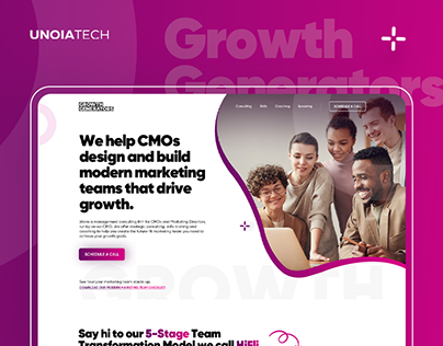 Growth Generators: Landing Page Design